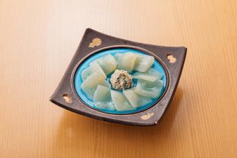 柚子蒟蒻のお造り