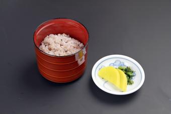 麺用雑穀御飯セット(漬物付)