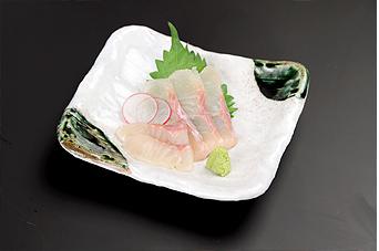 岩魚のお造り ※冬季はご提供しておりません。